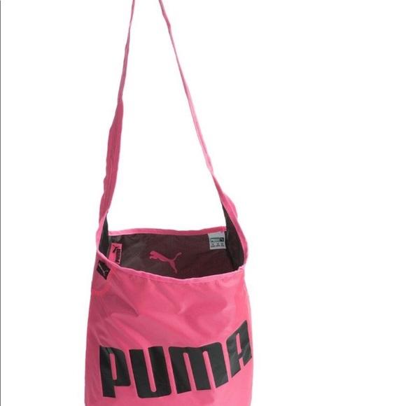 Puma Bags   Reversible Satchel Gym Bag Nwt   Poshmark 63d338397e